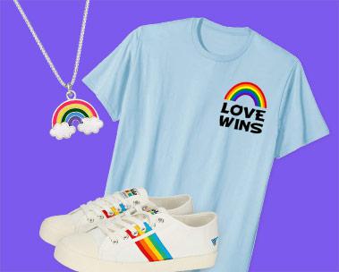 Einkaufen mit Pride