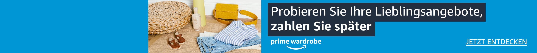 Prime Wardrobe Fashion-Angebote