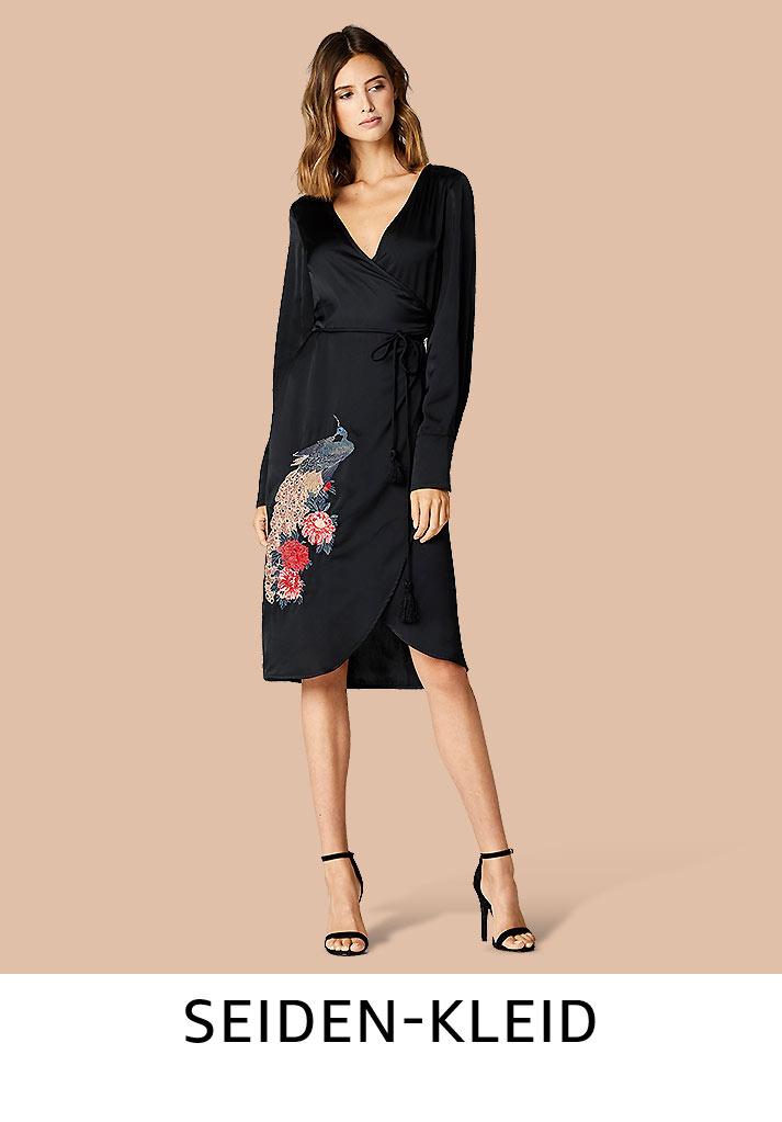 Seiden-Kleid