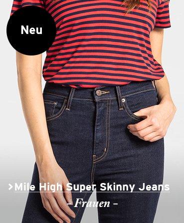 Levi's Mile high super skinny Frauen