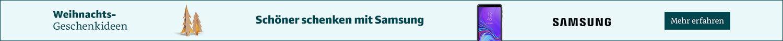 Schoener schenken mit Samsung