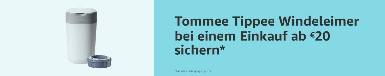 [amazon.de] Tommee Tippee Windeleimer ab einem Einkauf von 20€ kostenlos