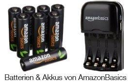 Batterien & Akkus von AmazonBasics