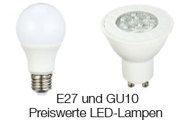 LED-Lampen von AmazonBasics