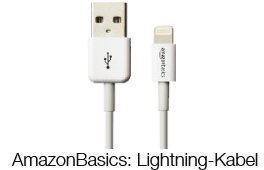 Lightning-Kabel von AmazonBasics