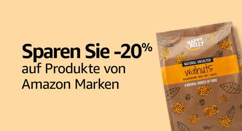 Sparen Sie 20% auf Marken von Amazon