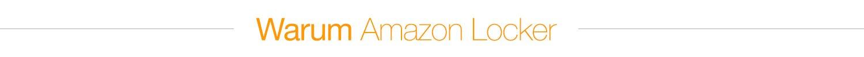 Warum Amazon Locker