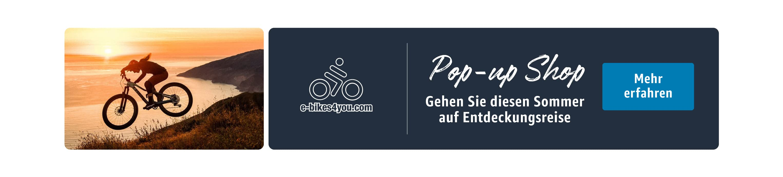 Pop-up Shop  e-bikes4you.com