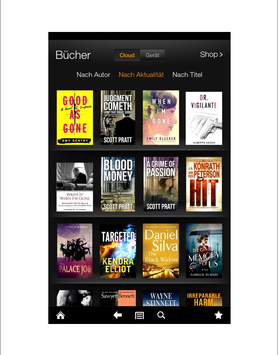 eBook aussuchen