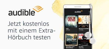Audible mit einem Extra-Hörbuch testen