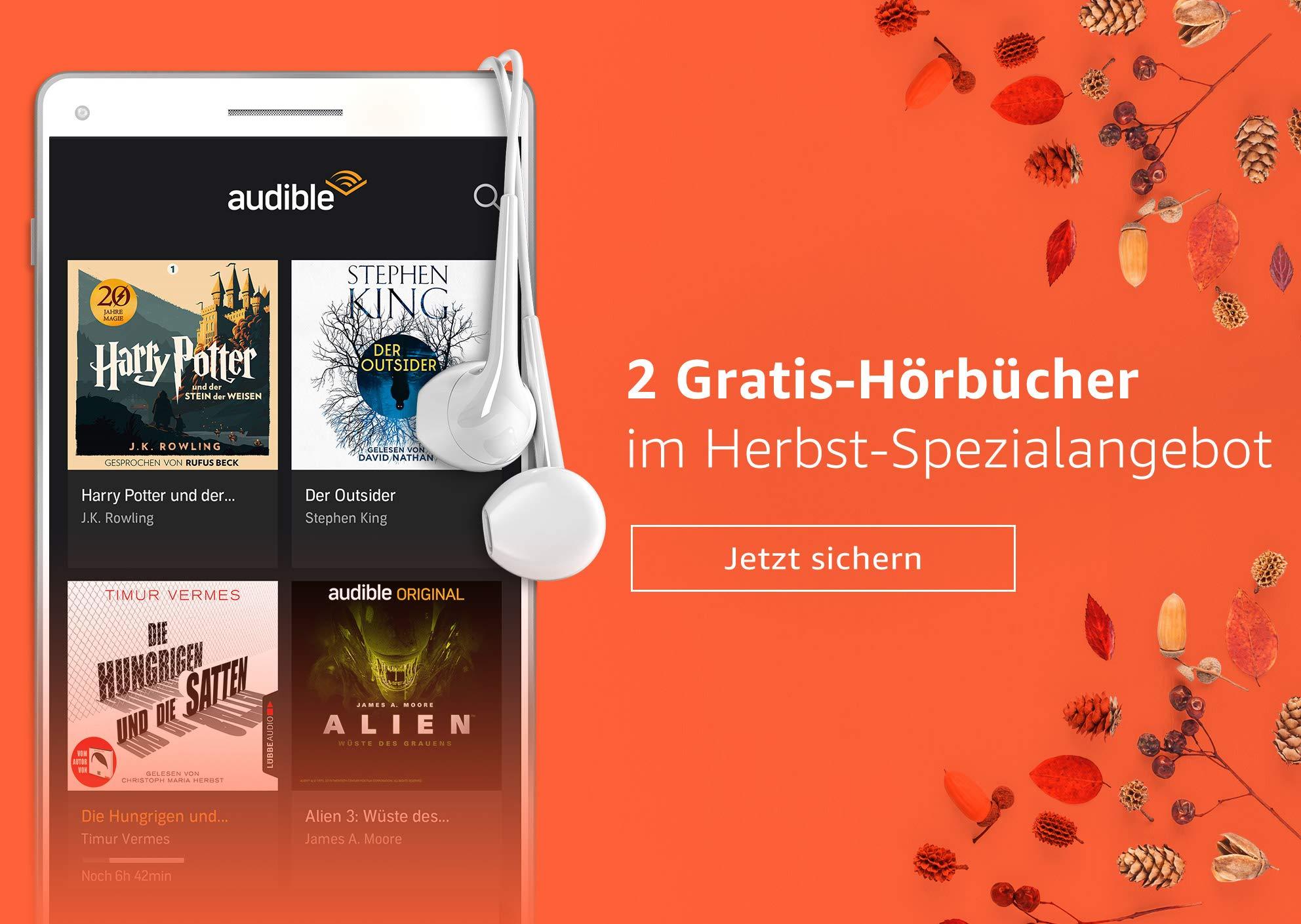 Herbstangebot: 2 Gratis-Hörbücher