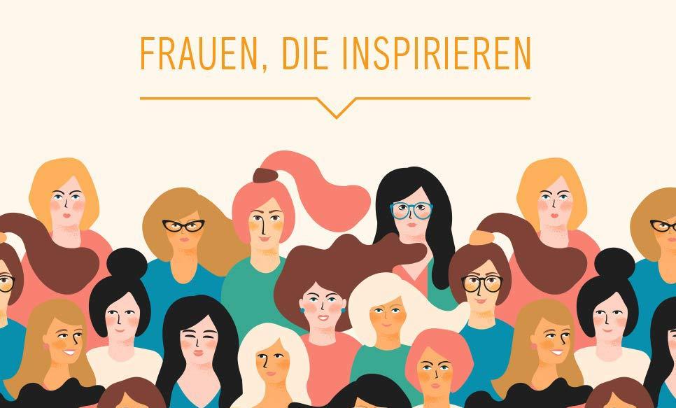 Inspirierende Frauen