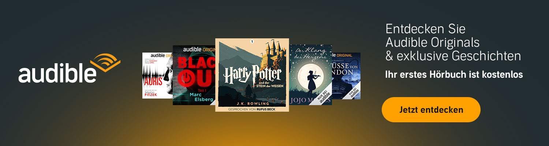 Entdecken Sie Audible Originals & exklusive Geschichten. Ihr erstes Hörbuch ist kostenlos