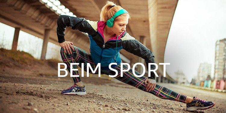 Beim Sport