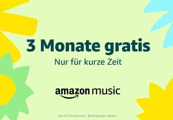 Amazon Music Unlimited: 3 monate gratis
