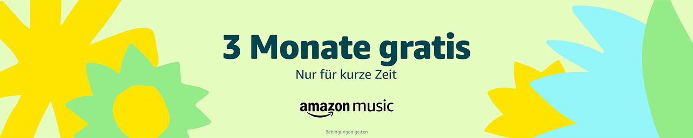 3 Monate gratis Amazon Music Unlimited