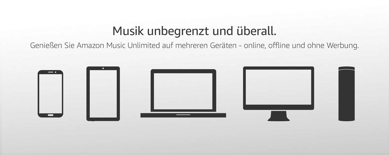 Musik unbegrenzt und überall
