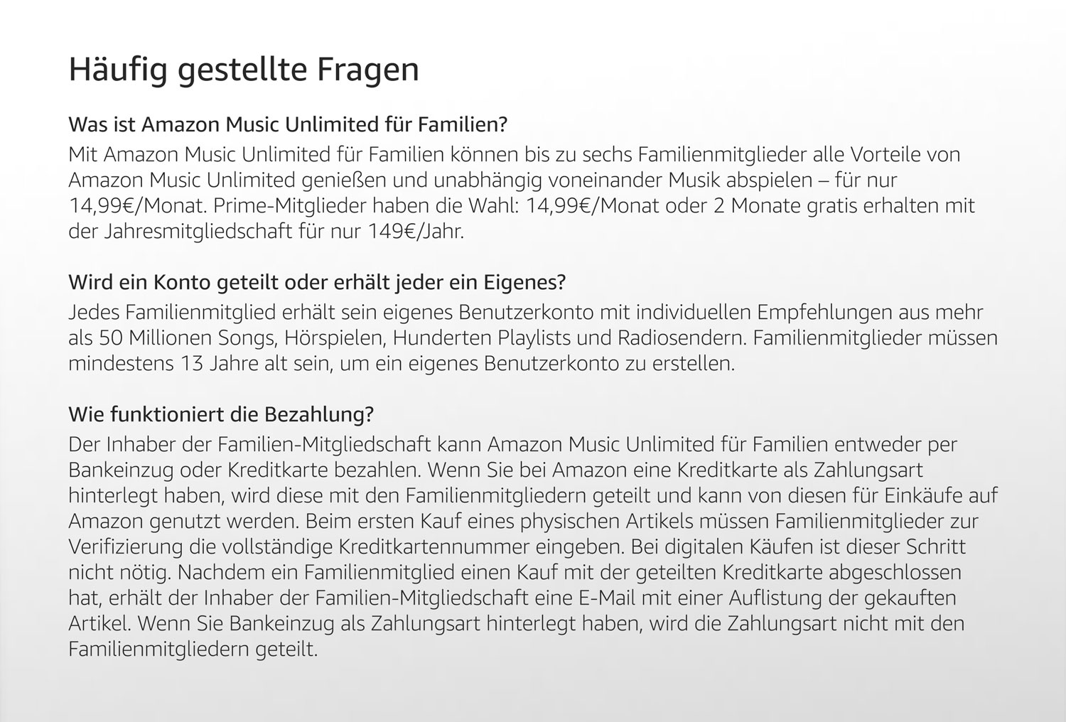 Amazonde Amazon Music Für Familien