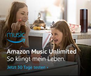 Amazon Music Unlimited gratis testen - Banner