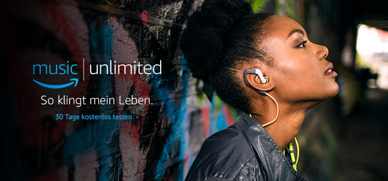 Amazon Music Unlimited: 30 Tage kostenlos testen