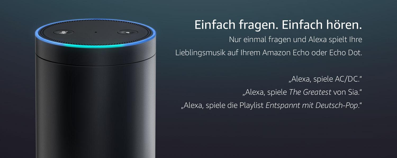 Amazon Music Unlimited Echo, Amazon Music Unlimited Alexa