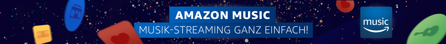 Amazon Music - Musik-Streaming ganz einfach!
