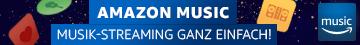 Amazon Music - Musik-Streaming ganz einfach!