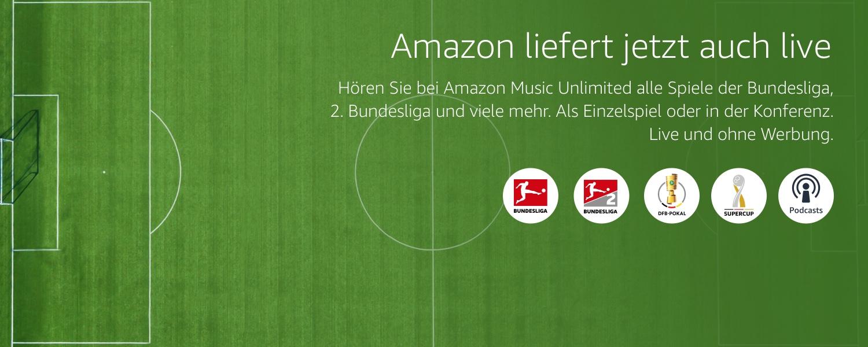 Amazon liefert jetzt auch live