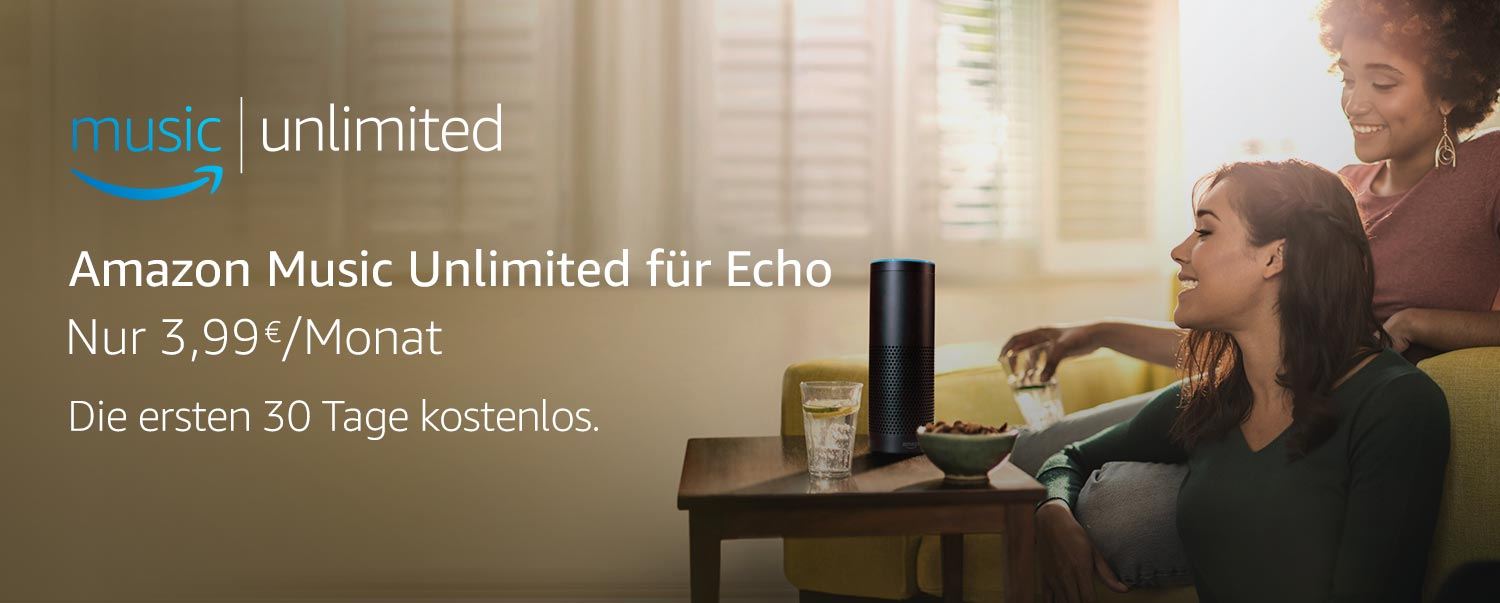 Amazon Music Unlimited für Echo