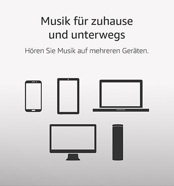 Prime Music App, ohne Werbung, offline