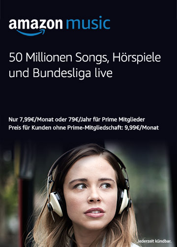 Music streaming mit Amazon Music Unlimited