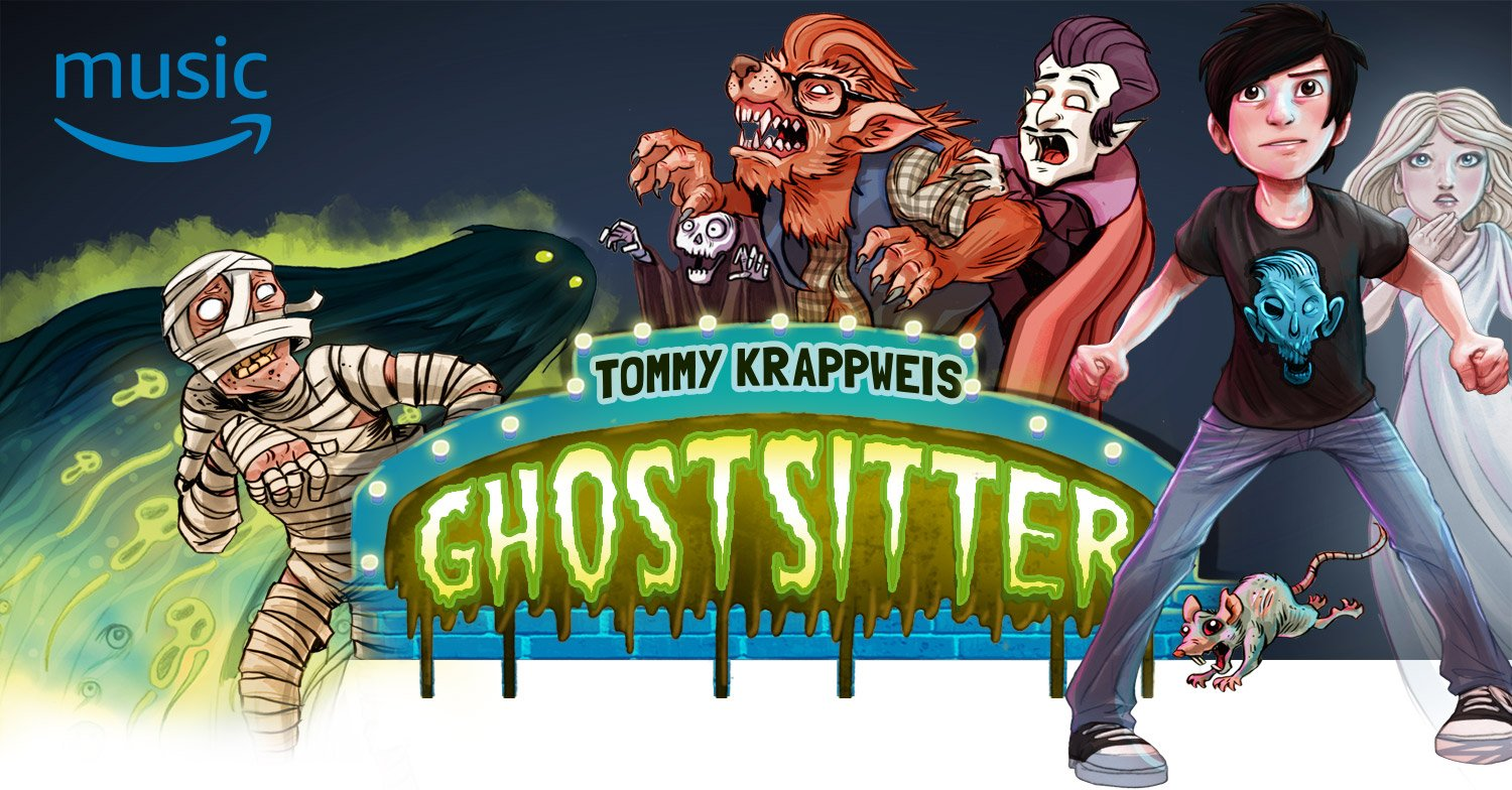 Amazon Music Original Hörspiel: Ghostsitter