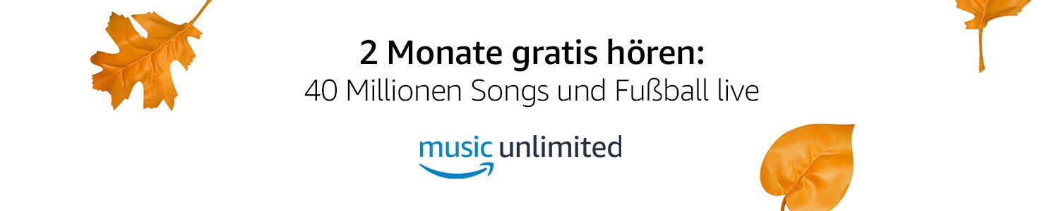 Amazon Music Unlimited gratis testen - Banner