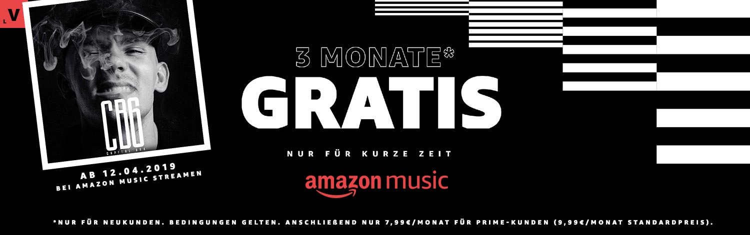 3 Monate gratis Amazon Music Unlimited