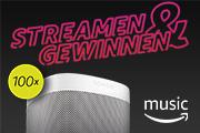 Amazon Music streamen und Sonos One gewinnen