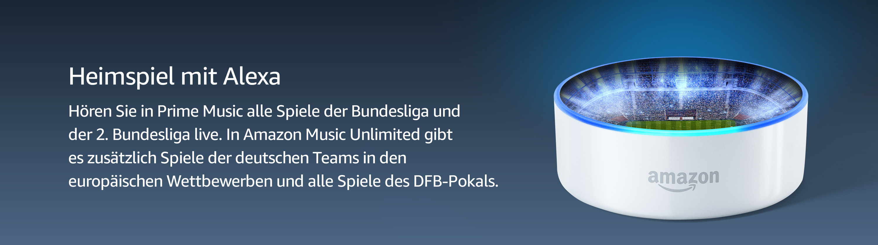 Bundesliga bei Amazon Music