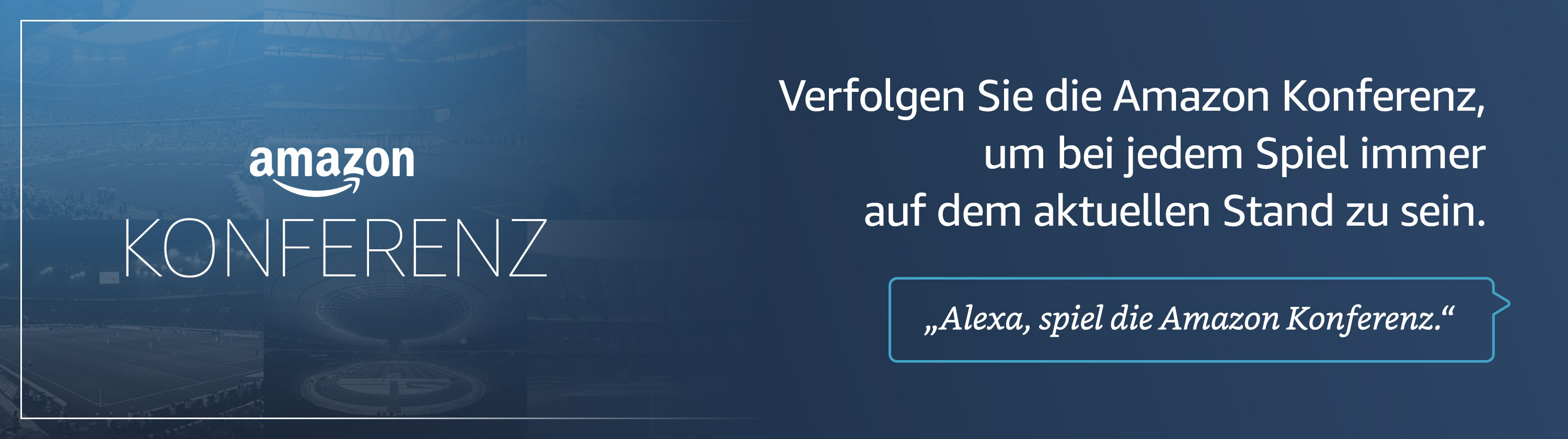 Die Amazon Konferenz