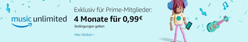 Amazon Music: Exklusiv für Prime-Mitglieder