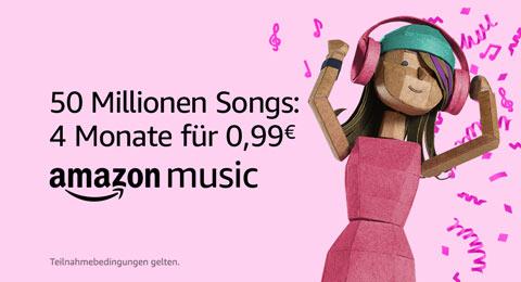 Amazon Music Unlimited: 40 Millionen Songs für 0,99