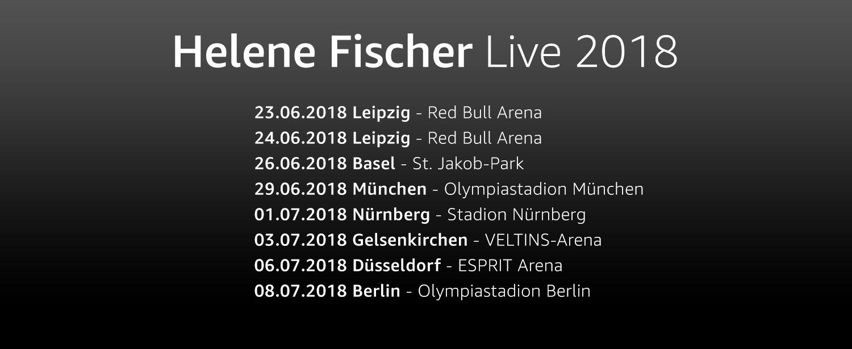 Helene Fischer Live 2018