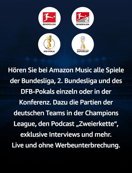 Fußball live bei Amazon Music