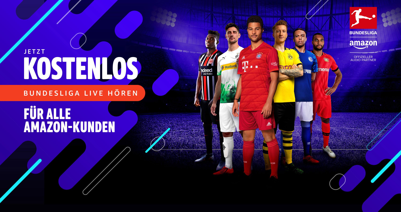 Kostenlos Bundesliga live bei Amazon h?ren