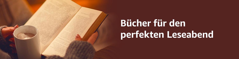Bücher für den perfekten Leseabend