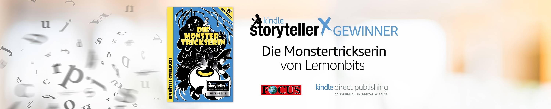 Kindle Storyteller X - Deutscher Self Publishing Award