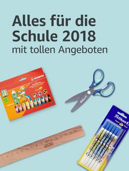 Alles für die Schule: Schulbedarf 2018