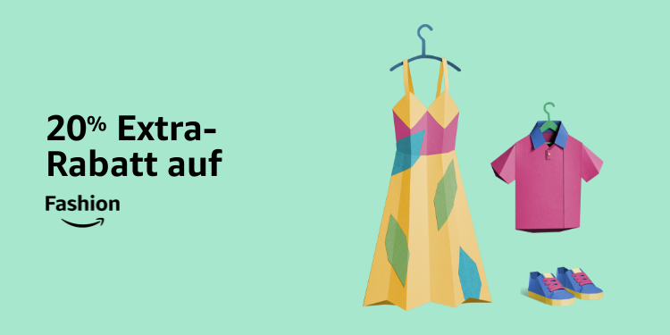 20% Extra-Rabatt auf Fashion