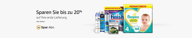 Sparen Sie bis zu 20% auf Ihre erste Lieferung