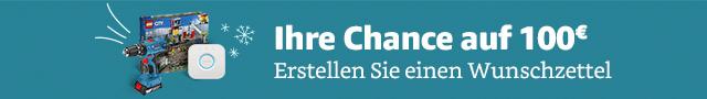 Ihre Chance auf 100€: Erstellen Sie einien Wunschzettel