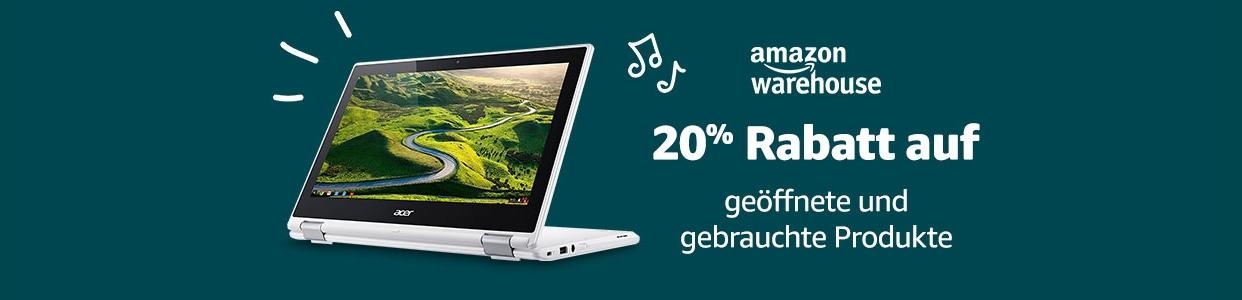 [amazon.de] -20% na warehouse deals