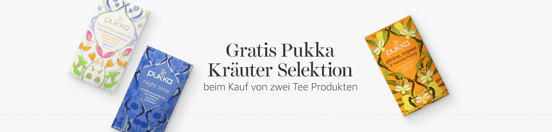 Gratis Pukka Kräuter Selektion